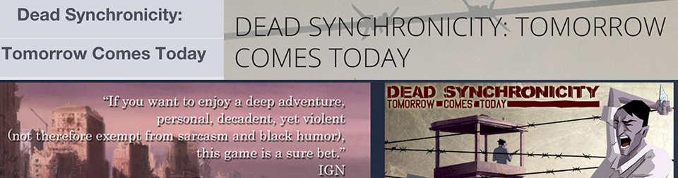 """Dead Synchronicity"" Came Today"