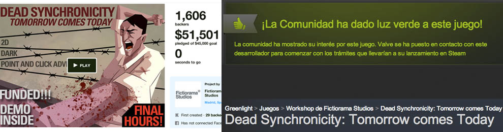 Funded, greenlit… who could ask for anything more?