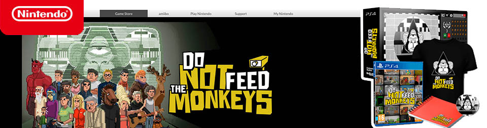 Own a console? Then, play Do Not Feed the Monkeys!
